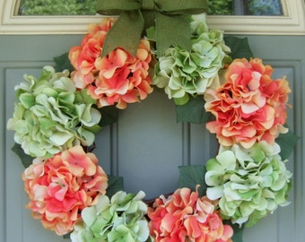 Summer Wreath - Wreath for Summer Door - Summer Door Wreath