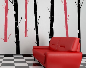 Aspen Woods - Vinyl Wall Decals
