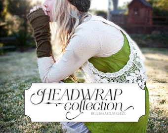 E-BOOK Headwrap Pattern Collection Knitting PDF