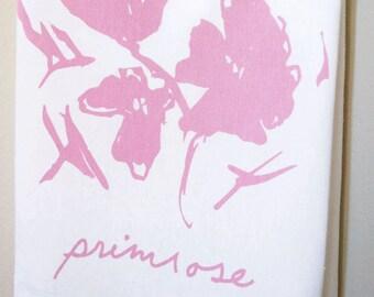 Primrose Wildflower Tea Towel