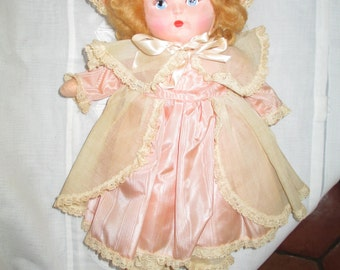 Cloth Doll Little Bo Peep c.1940 AMAZING Condition  Krueger Company by Gatormom13