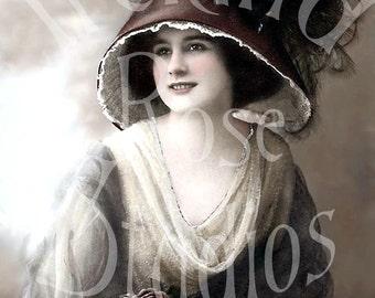Ruth-Victorian/Edwardian Woman-Digital Image Download