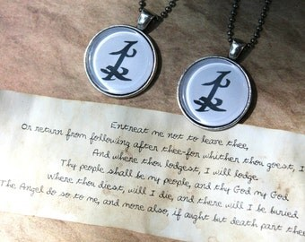 To my Parabatai - Friendship necklaces