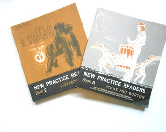 New Practice Readers, Vintage Children's Textbooks, 1960s