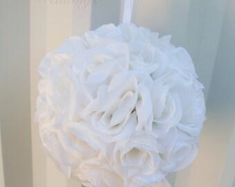 Pomander Flower girl kissing ball Wedding decoration Bridesmaid bouquets Wedding flower ball