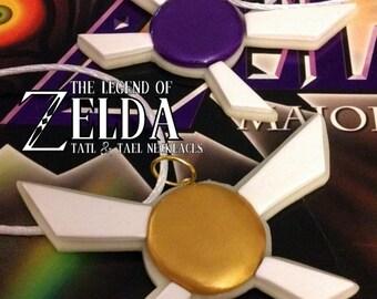 Tatl and Tael Friendship Necklaces - Glow in the Dark - Legend of Zelda - Nintendo