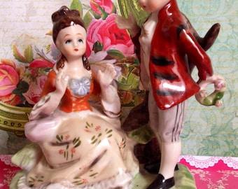 Vintage Victorian Romantic Couple Figurine