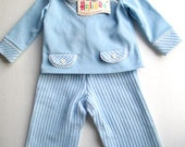 Baby boy outfit from 1970s New. 3-6 months baby boy outfit ~ vintage clothing for baby movie set prop ~ holloween costume for baby boys