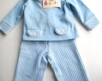 Baby boy outfit from 1970s vintage clothing for infant movie set prop Halloween costume photo shoot props vintage baby clothing cute  photos