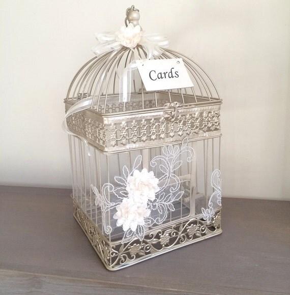 Elegant Wedding Gift Card Box : ... Wish Box, Money Box, Card Box, Wedding Decor, Wedding Gift Box, *NEW