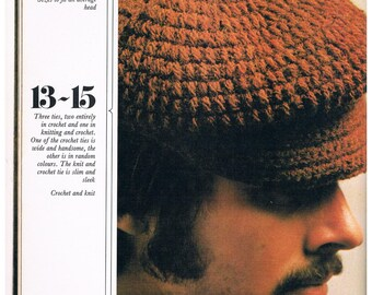 Golden Hands Special - All You Can Knit And Crochet For Men, 1972