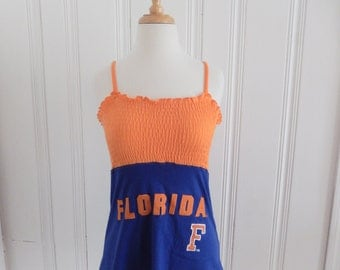 One of a Kind Gameday Shirt made w/ Florida TShirt - Medium - On Sale and Free Shipping