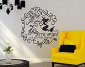 I'll Get You My Pretty - Halloween Décor - Vinyl Wall Decal Sticker Art