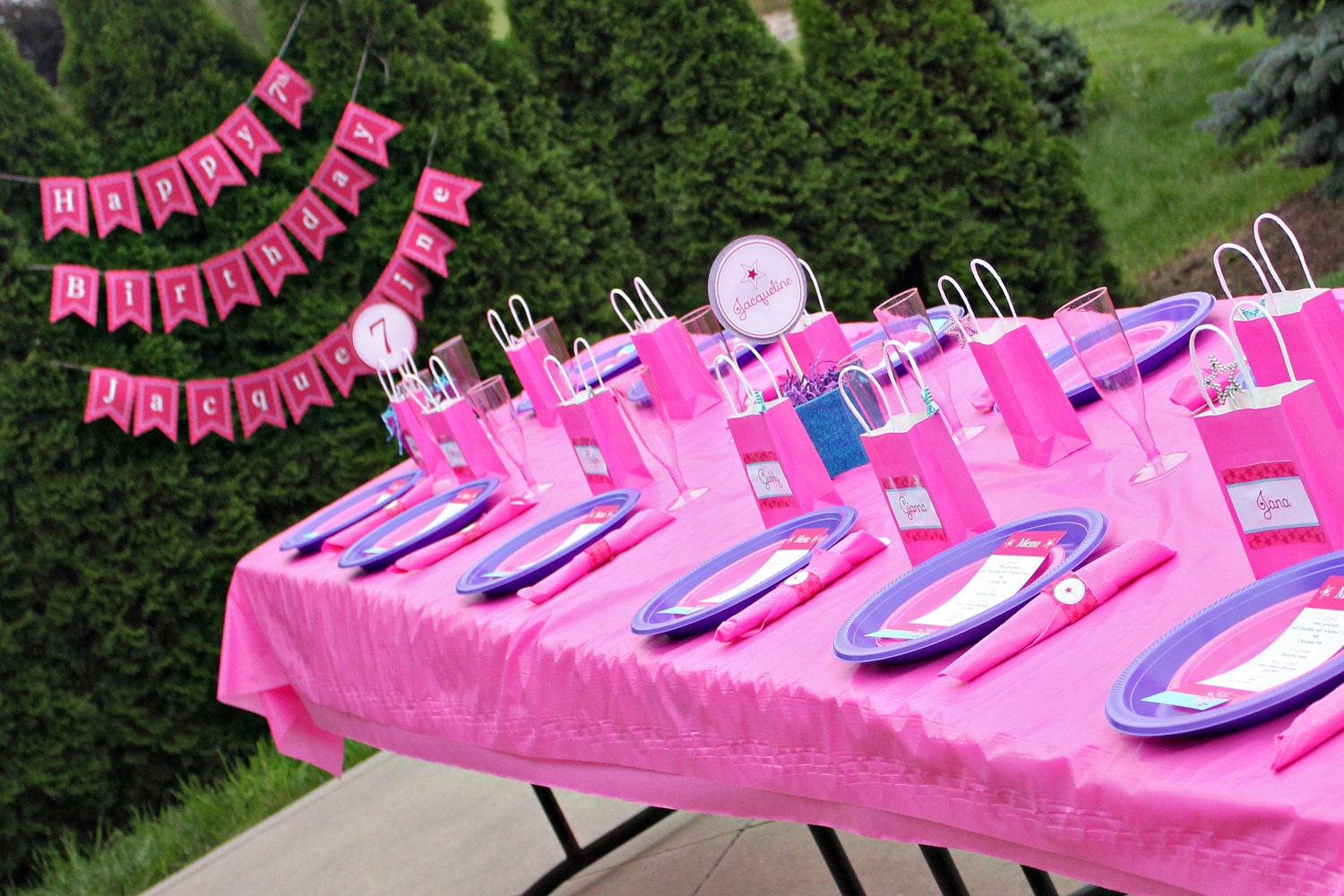 American girl doll party decorations girls doll by 505design for American party decoration
