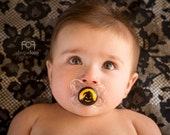 Boogieman Custom Hand Painted Pacifier by PiquantDesigns