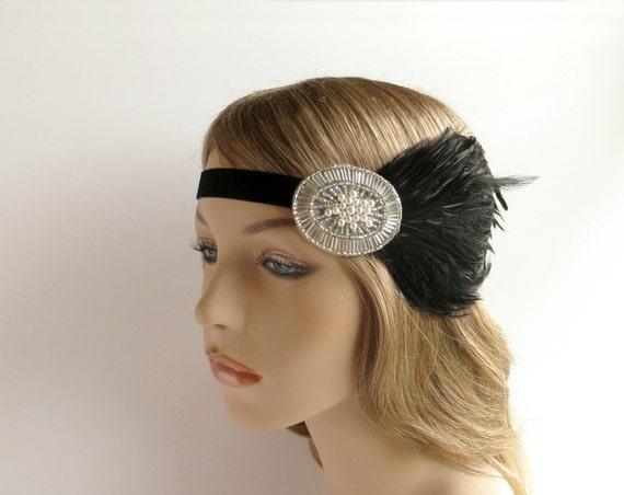 Bandeau cheveux annees 20 - Headband annee 20 ...