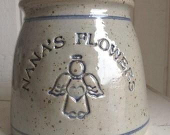 Family Planter Personalized Stoneware Crock