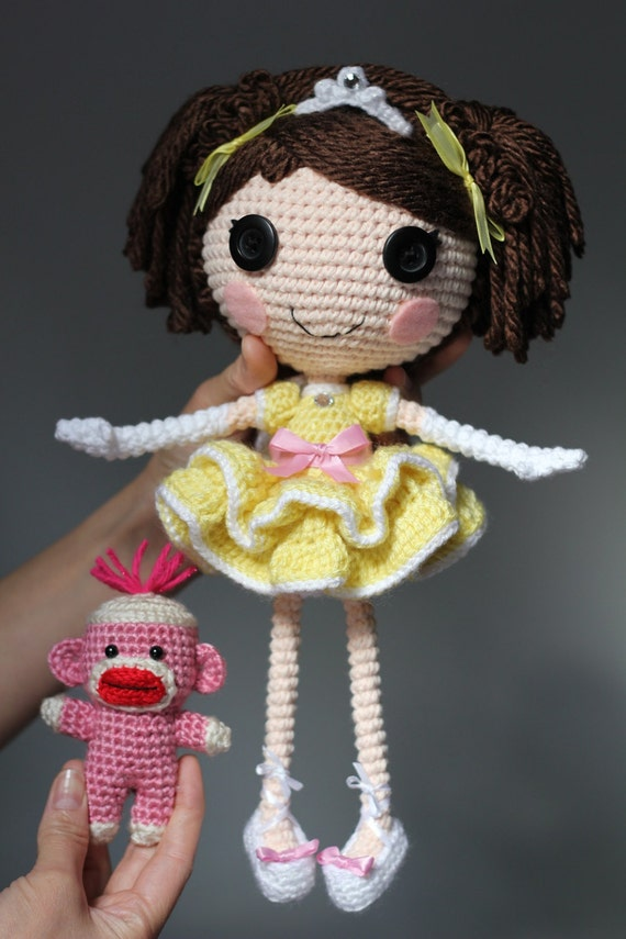 Crochet Patterns Etsy : PATTERN: Princess Laina Amigurumi Doll by epickawaii on Etsy