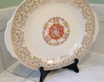 Vintage The Sebring Pottery Company Platter Serving