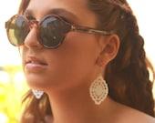 White Lace Earrings , white earrings , romantic lace earrings , party earrings , dangle earrings , summer earrings, beach earrings