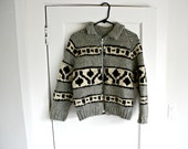 Vintage Cowichan Sweater Adult size XS or Child/Teen size L XL