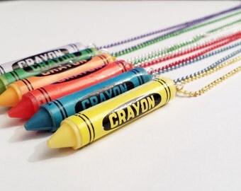 Sale! Crayon Necklace