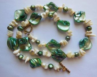 Ocean Love set Bracelet and Necklace  S610