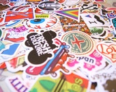 LIMIITED TIME price cut! 50 PCS Random Mixed Matte Laptop Skateboard Guitar Decoration Graffiti Stickers Pack Lot 50 pieces