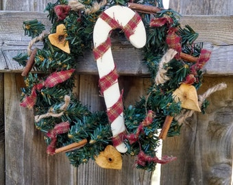 ONE Candycane Wreath