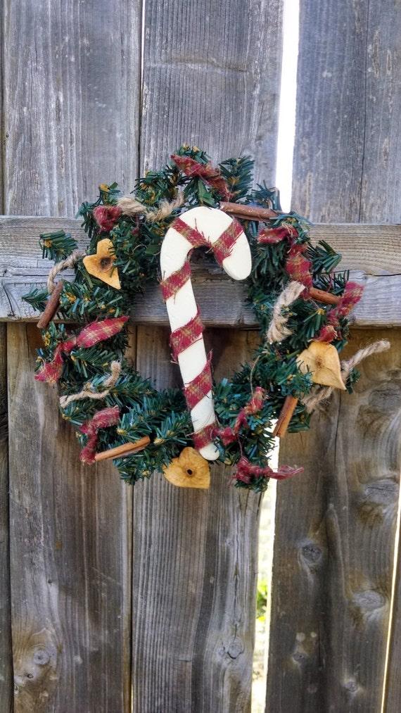 ONE Candycane Wreath