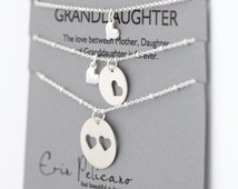 Grandmother Mother Daughter Jewelry. Grandma Gift. Grandmother of the bride gift. Birthday gift for Her. Family tree necklace.