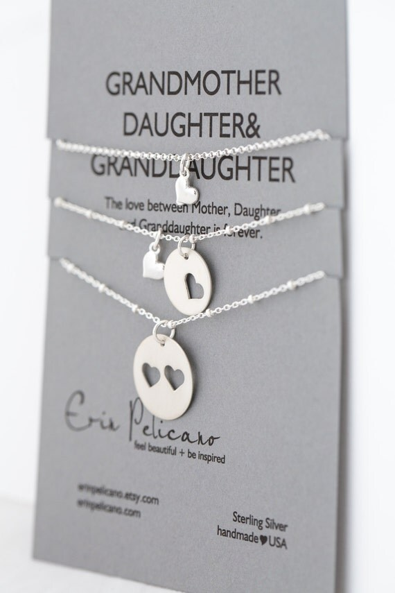 Mothers Day Gift Grandmother Daughter By Erinpelicano On Etsy