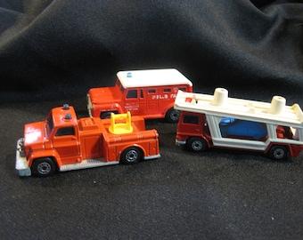 Vintage 1970's Lesney Matchbox Super Fast Vehicles Lot of 3