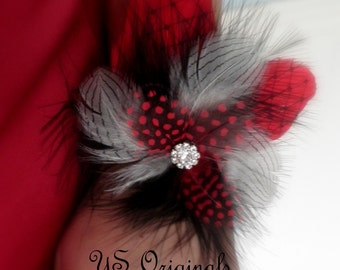 Red Monroe Corsage