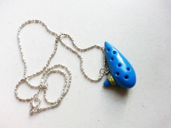 Legend of Zelda Ocarina Charm Necklace