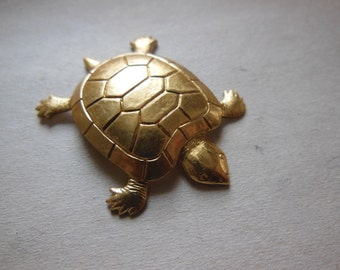 Box Turtle Stamping (2pc)