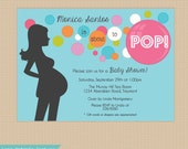 Pop . Baby Shower . Invitation . Any colors