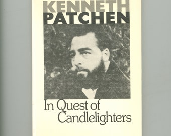 Kenneth Patchen In Quest of Candlelighters Concrete Poetry Visual Poems & a Short Story, New Directions 1972 First Paperback Vintage Book