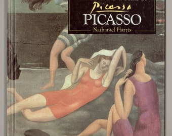 Pablo Picasso. The life and Works of Picasso by Nathaniel Harris. Compilation of Works from Bridgeman Art Library. Vintage Book from 1994