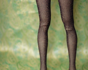 Super Gem Iplehouse EID Purple And Gold Sparkle Stockings For SD BJD - Last Pair