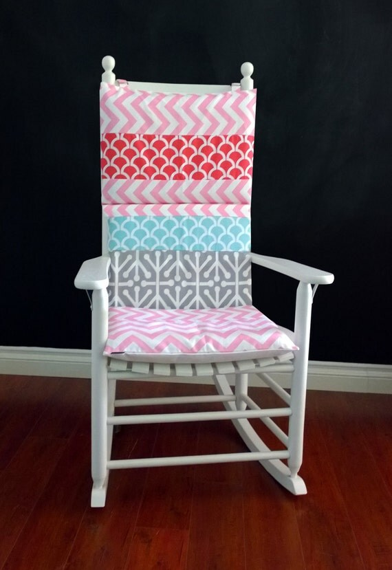 chevron chair cushions