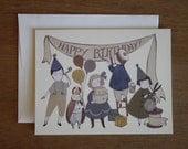 Card- Birthday Banner
