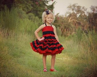 Stacy's Sassy Ruffle Skirt PDF Pattern Sizes 6/12m to 8 girls