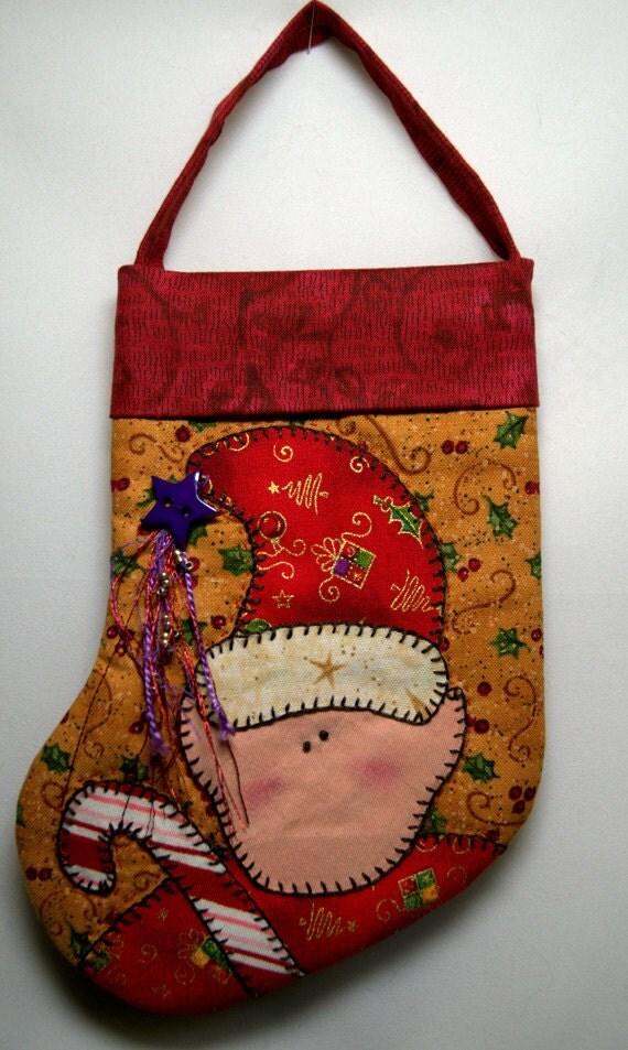 Christmas Ornament Elf Stocking