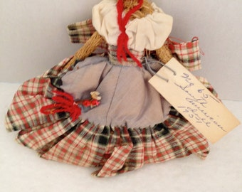 1951 Vintage Folk Doll from South America