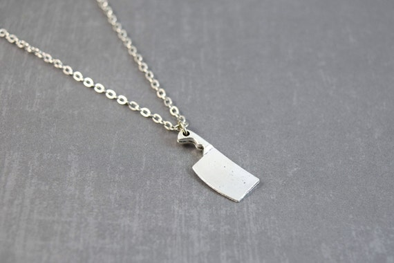 items similar to butcher knife necklace chef knife