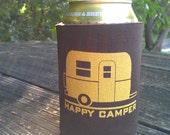 Happy Camper Koozie - Set of 2