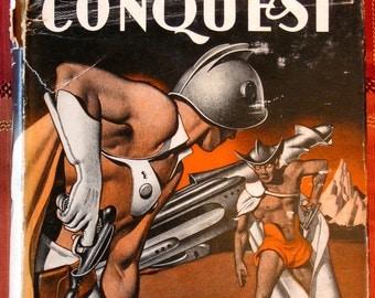 "1949 1st Edition ""Pattern for Conquest"" Gnome Press Hardcover Sci-Fi Classic"