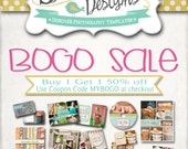 BOGO SALE -- Follow Directions in Listing