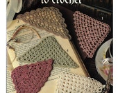 Corner Bookmarks to Crochet Pattern Book Leisure Arts 2749